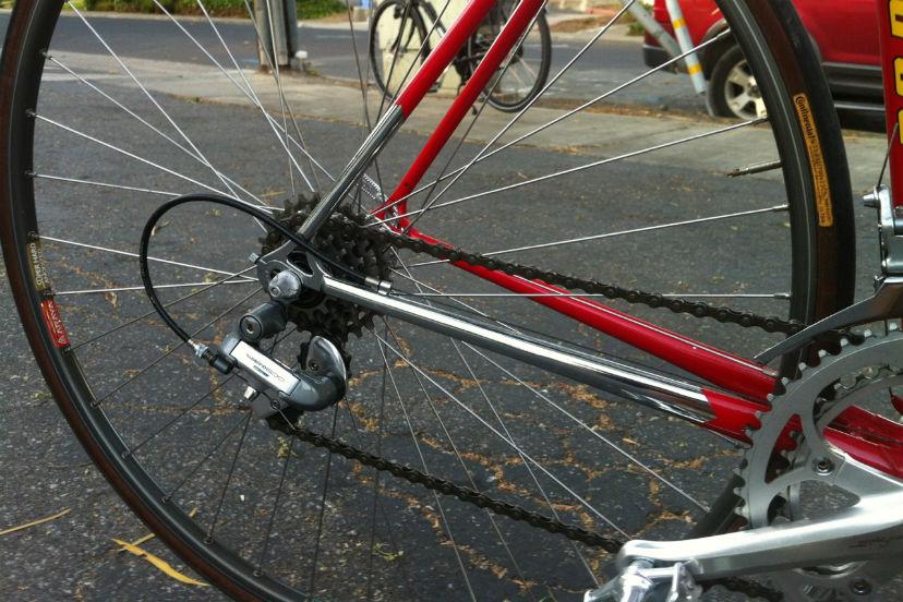 почему скрипит велосипед