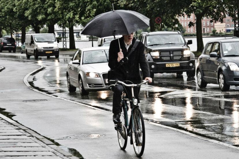 как ездить в дождь на велосипеде