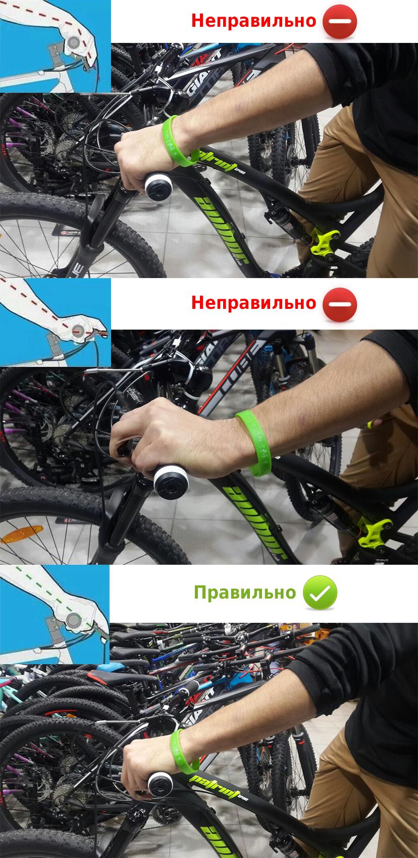 Если болят запястья после езды на велосипеде