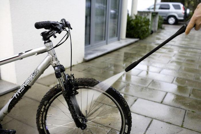 Как быстро помыть велосипед