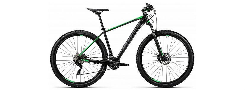 горный велосипед Cube, купить горный велосипед Cube, как выбрать размер рамы горного велосипеда Cube
