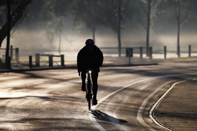 Преимущества зимней езды на велосипеде