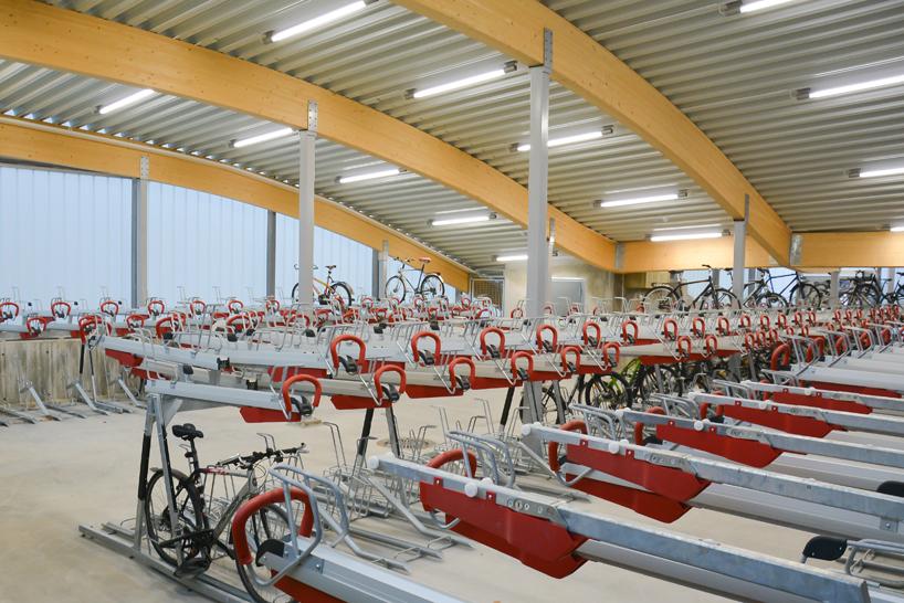 «Отели» для велосипедов
