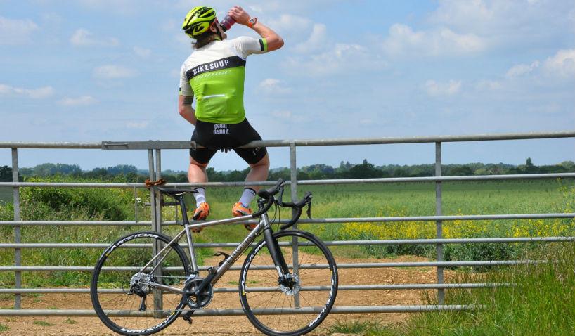 Велосипед и питье