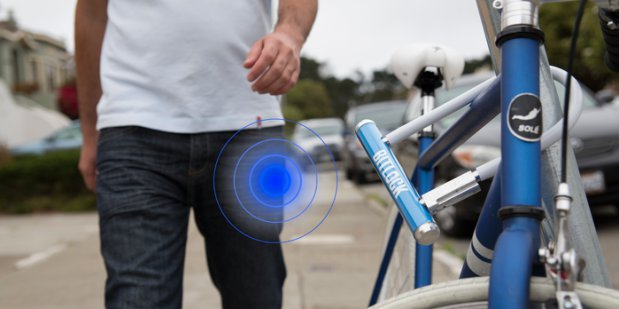 «Умный» велозамок Bitlock
