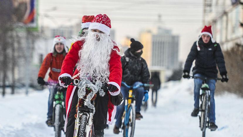 Идеи для новогодних велопарадов