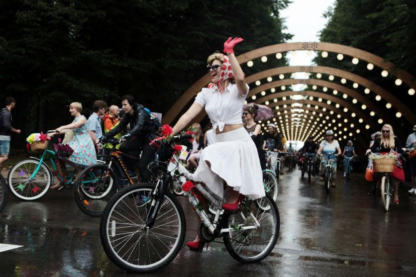 костюмированный велопарад