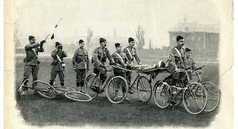военный санитарный велосипед
