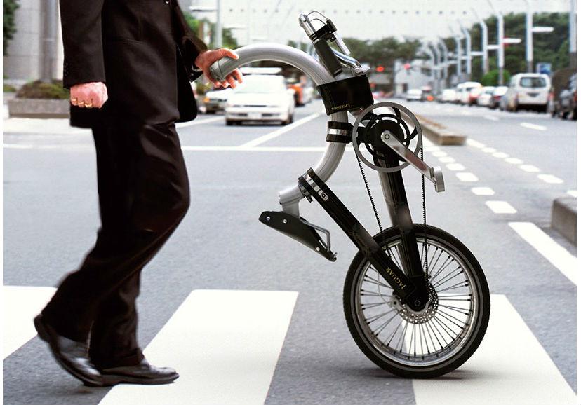 велосипед складной с овальной рамой somerset