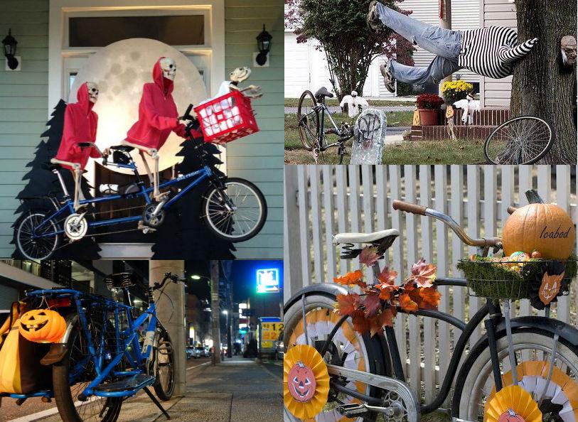 Велосипедына хеллоуин,как декор. Велопраздники, Интересные Факты, велохеллоуин, хеллоуин на велосипедах, как празднуют Halloween велосипедисты,