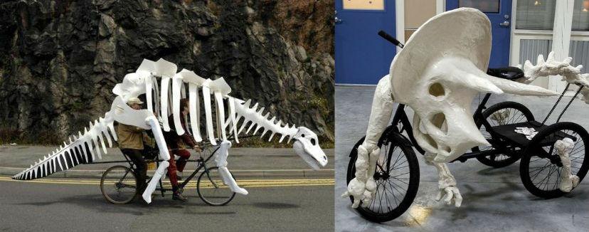 Как украсить велосипед на Хеллоуин
