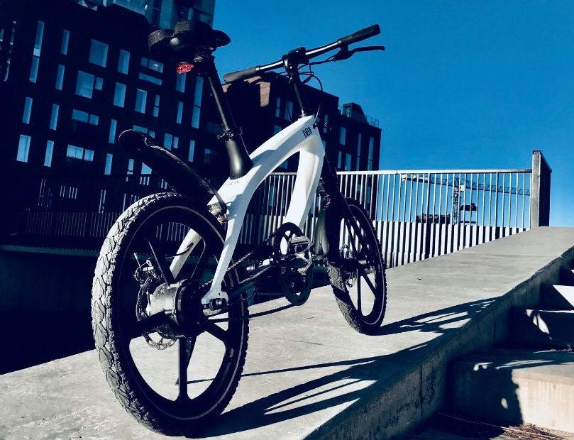 Электровелосипед BMX на энергии Солнца