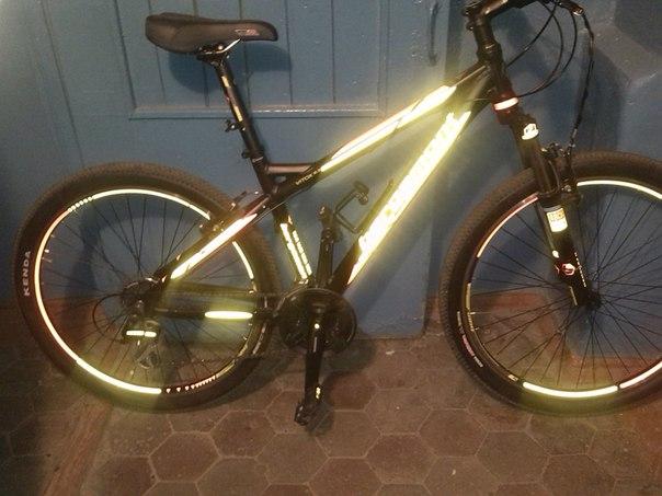Безопасный жилет для велосипедиста