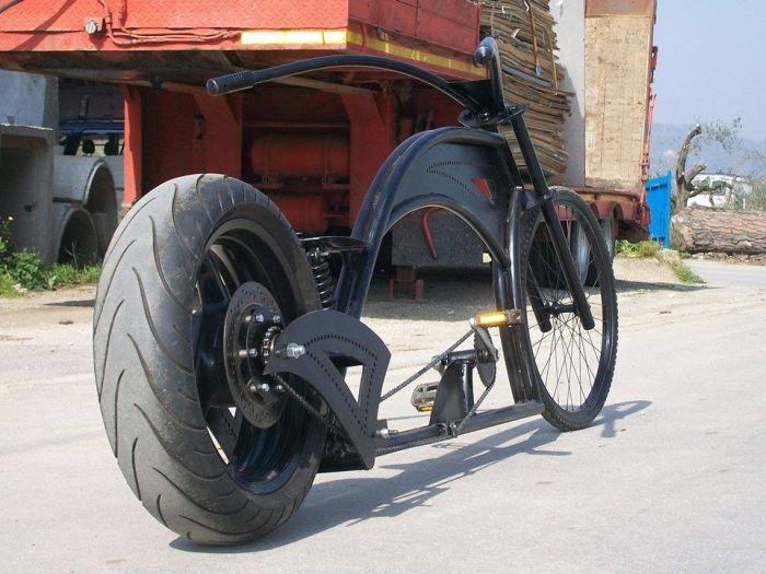 кастомный велосипед