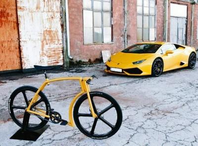 велосипед Viks в стиле итальянского бренда Lamborgini