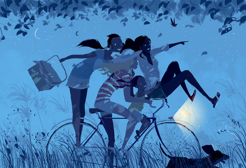 The end of a ( great) summer day. Pascal Campion