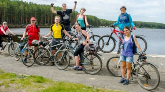 Как ездить на велосипеде в группе